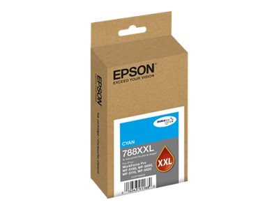 Epson 788XXL - Extra High Capacity - cyan - original - ink cartridge