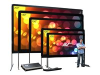 Elite Screens Yard Master Series OMS150H Projection screen with legs 150INCH (150 in) 16:9