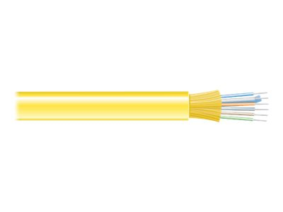 Black Box Distribution-Style bulk cable - TAA Compliant - yellow
