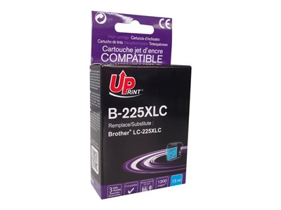 compatibles Brother  Brother LC225XL - compatible UPrint B.225XLC - cyan  - cartouche d'encre