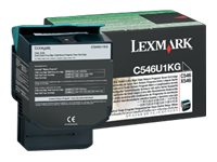 C546, X546 Black Extra High Yield Return Program Toner Cartridg