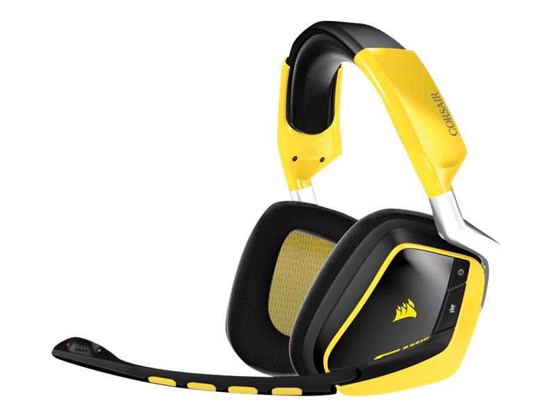 Corsair Gaming VOID RGB Dolby 7.1 - Special Edition Yellowjacket - Headset - Full-Size - drahtlos - 2,4 GHz