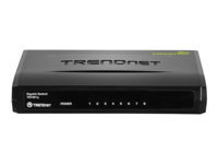 TRENDnet TEG S81g 8-Port Gigabit GREENnet Switch - commutateur - 8 ports