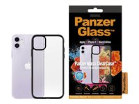 PanzerGlass ClearCase Black Edition back sort for Apple iPhone 11