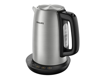 Philips Avance Collection Kedel 1.7liter Metal/black brushed metal