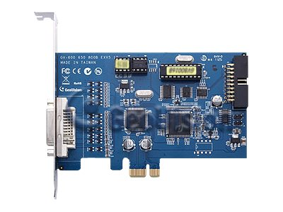 GeoVision GV-650 DVI Type B DVR card PCI Express x1 8 channels