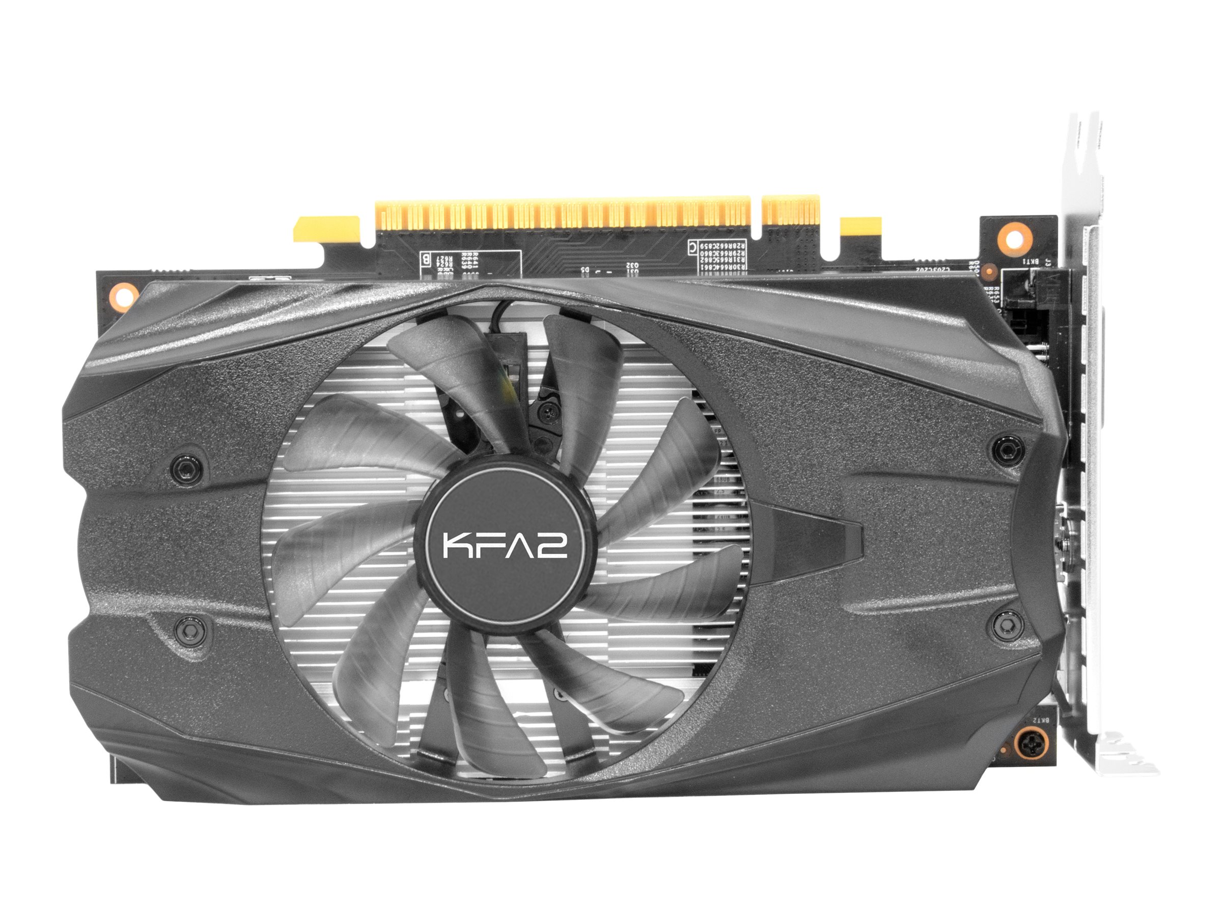 KFA2 GeForce GTX 1050 OC - Grafikkarten - NVIDIA GeForce GTX 1050 - 2 GB GDDR5 - PCIe 3.0 x16 - DVI, HDMI, DisplayPort