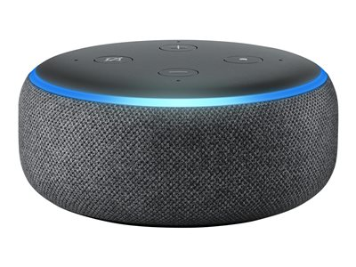 'Amazon Echo Dot (3nd) Black DE (German,UK,Japanese)'