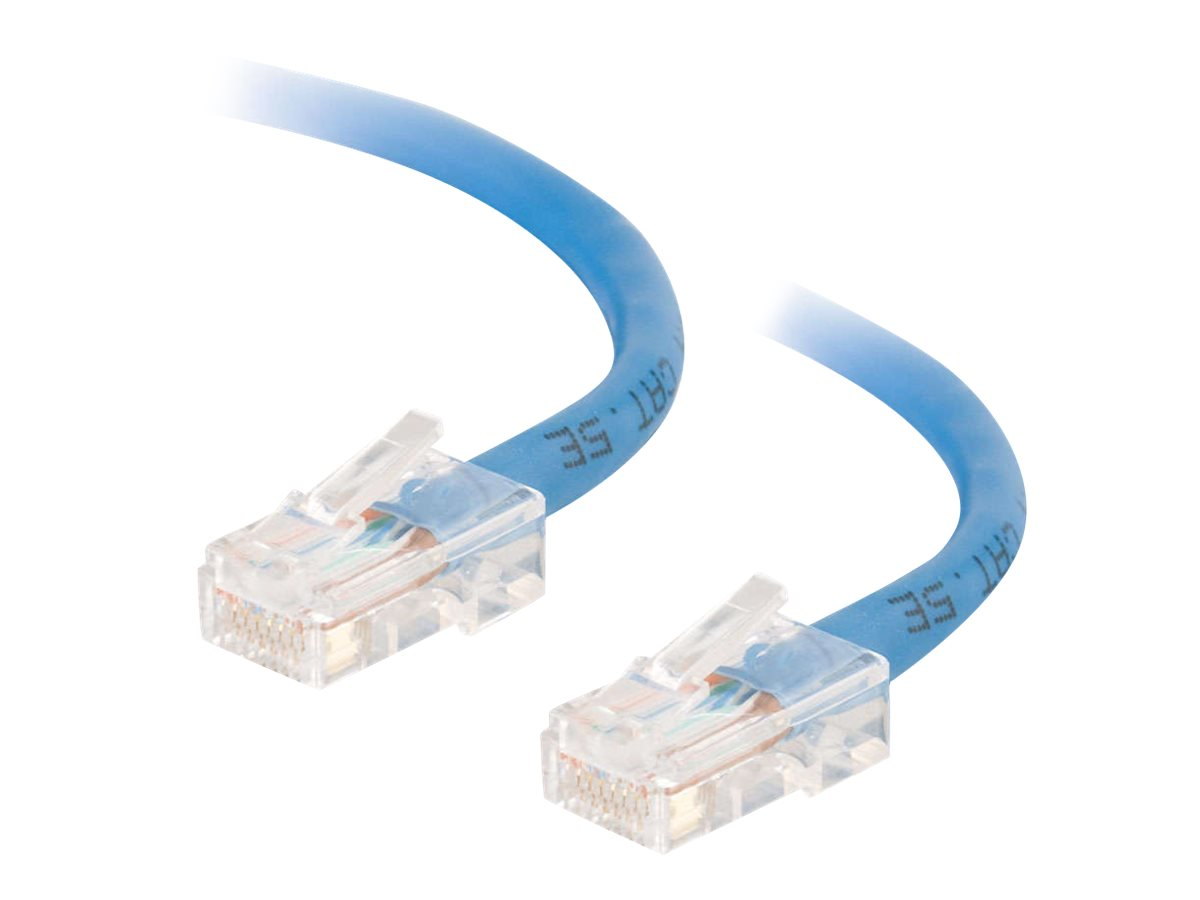 C2G Cat5e Non-Booted Unshielded (UTP) Network Patch Cable - Patch-Kabel - RJ-45 (M) bis RJ-45 (M) - 1 m - UTP - CAT 5e