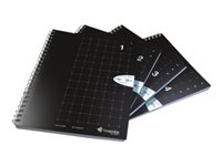Single Subject A5 Size Grid Notebook Numbers 1 through 4