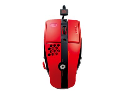Tt eSPORTS Level 10 M Mouse laser 7 buttons wired USB blazing red