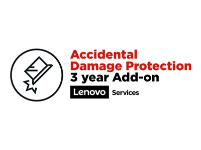 Lenovo ePac ADP Accidental damage coverage (for system with 3 years on-site warranty) 3 years