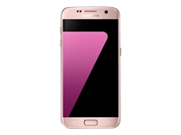 "Samsung Galaxy S7 - SM-G930F - smartphone - 4G LTE - 32 GB - microSDXC slot - TD-SCDMA / UMTS / GSM - 5.1"" - 2560 x 1440 pixels (577 ppi) - Super AMOLED - 12 MP (5 MP front camera) - Android - pink/gold"