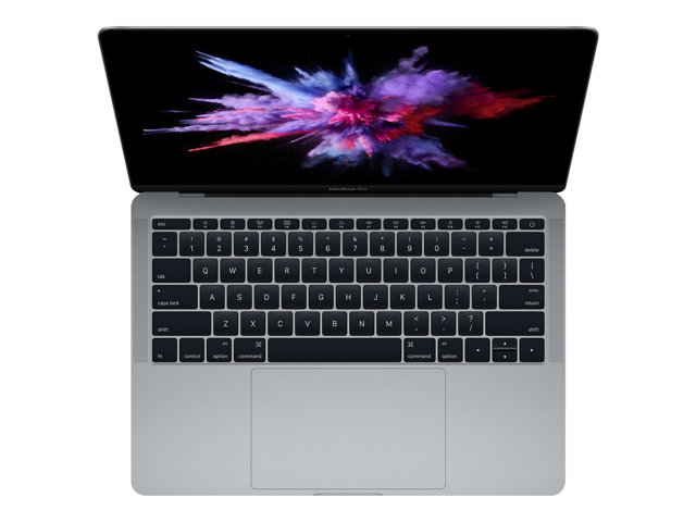 "Apple MacBook Pro avec écran Retina - Core i5 2.3 GHz - Apple macOS Mojave 10.14 - 8 Go RAM - 256 Go SSD - 13.3"" IPS 2560 x 1600 (WQXGA) - Iris Plus Graphics 640 - Wi-Fi, Bluetooth - gris - kbd : AZERTY"