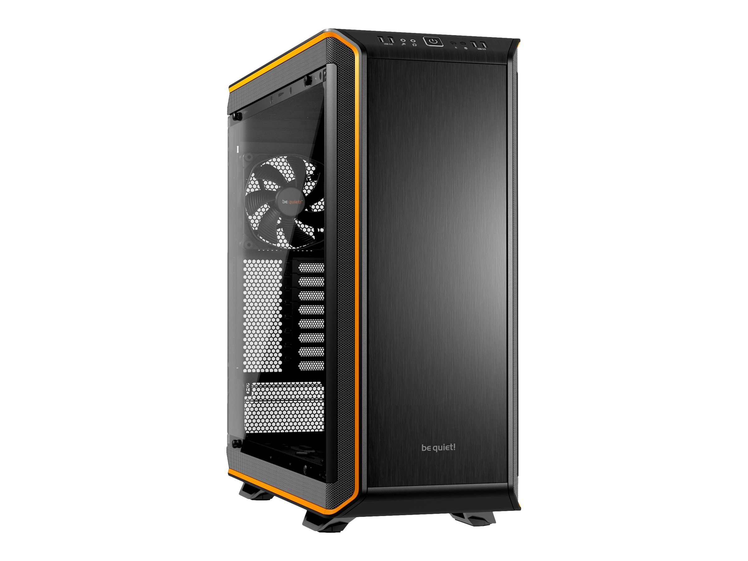 be quiet! Dark Base Pro 900 - Midi Tower - Erweitertes ATX - ohne Netzteil - orange - USB/Audio
