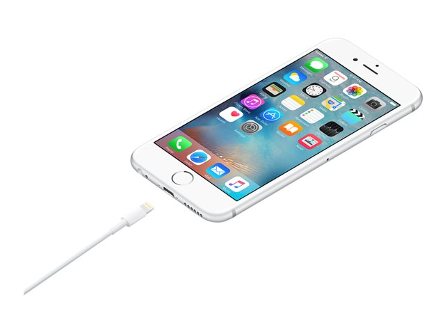 Apple - Lightning cable - Lightning (M) reversible to USB (M) - 2 m