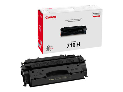 Canon 719 H Sort 6400 sider