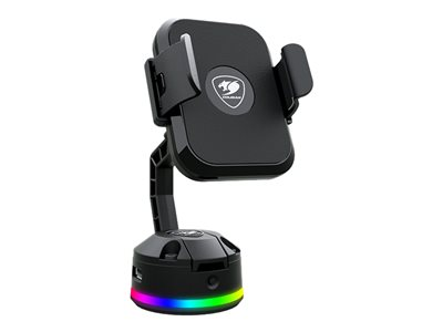 COUGAR BUNKER M RGB Wireless charger for mobile phone 2 USB hubs RGB lighteffect.