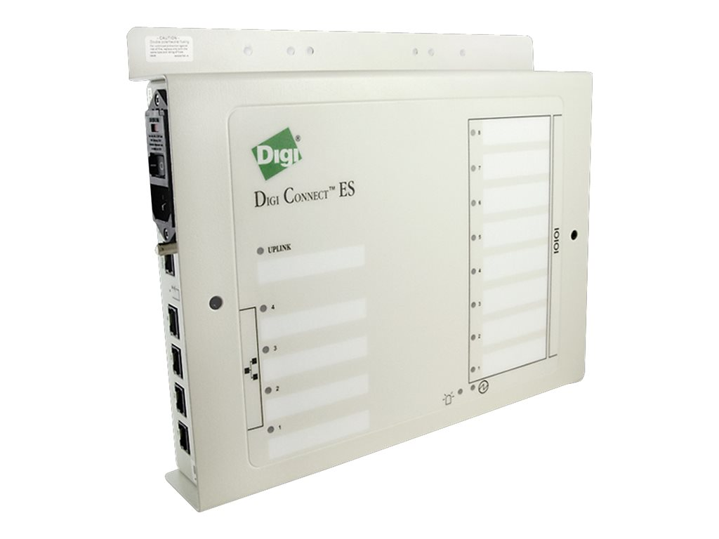 Digi Connect Extended Safety 8SB w/ Switch - terminal server