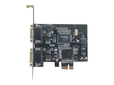 M-CAB - Adapter Parallel/Seriell - PCIe - RS-232 - 2 Anschlüsse + 1 paralleler Port