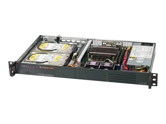Supermicro SuperServer 5019C-L - rack-mountable - no CPU - 0 GB - no HDD