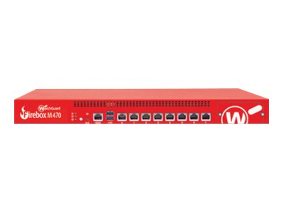 WatchGuard Firebox M470 Security appliance with 3 years Total Security Suite 8 ports GigE
