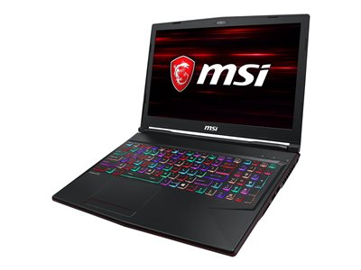MSI GL63 9SDK 623 Core i5 9300H / 2.4 GHz Windows 10 Home 8 GB RAM 512 GB SSD NVMe
