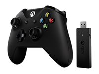 Microsoft Xbox Controller + Wireless Adapter for Windows - Game Pad