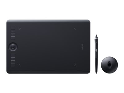 Wacom Intuos Pro Medium Digitizer right and left-handed 8.8 x 5.8 in multi-touch