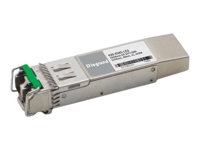 C2G Dell 430-4585 Compatible TAA Compliant 10GBase-ER SFP+ Transceiver (SMF, 1550nm, 40km, LC, DOM) - SFP+ transceiver …