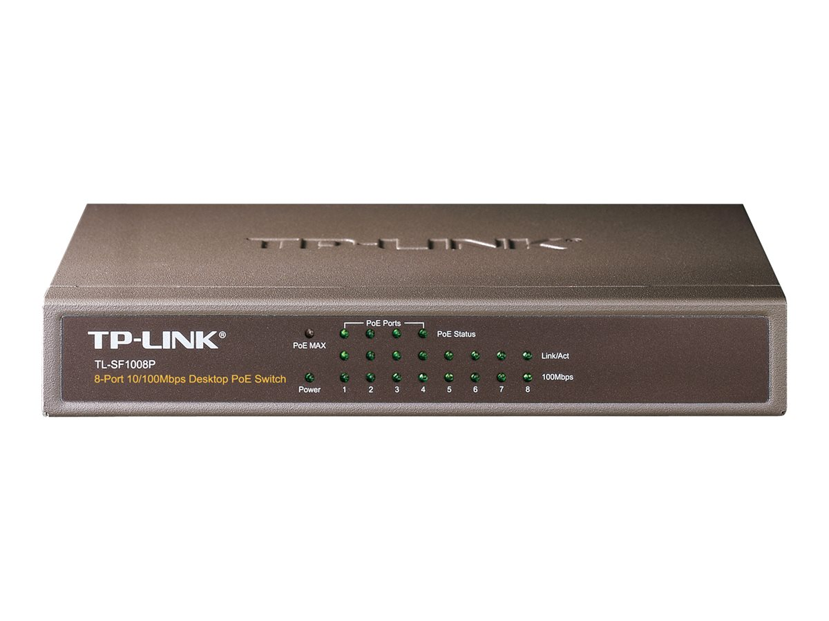 TP-Link TL-SF1008P - switch - 8 ports