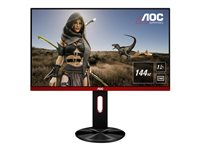 AOC Gaming G2590PX 24.5' 1920 x 1080 VGA (HD-15) HDMI DisplayPort 144Hz Pivot Skærm