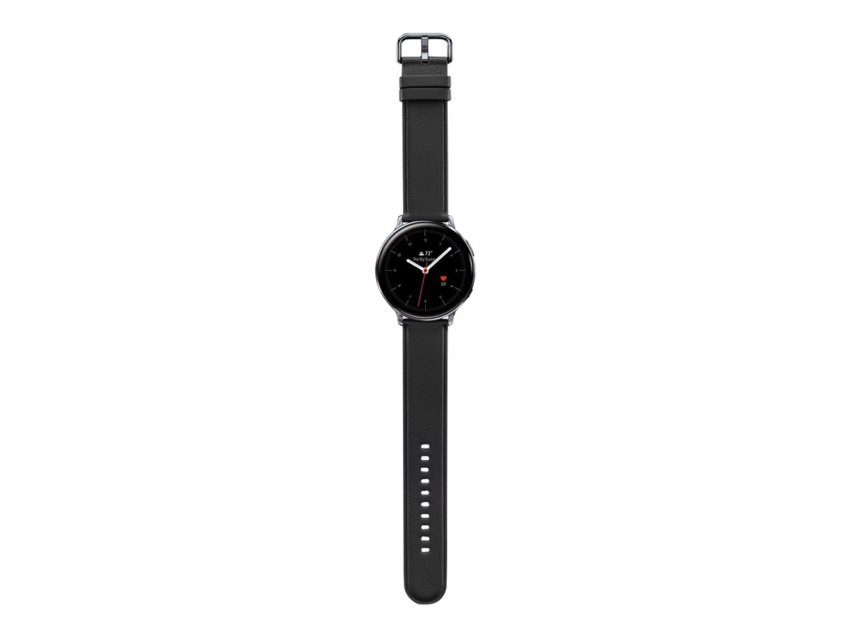 Samsung Galaxy Watch Active 2 - silver stainless steel - smart watch with band - 4 GB - not specified