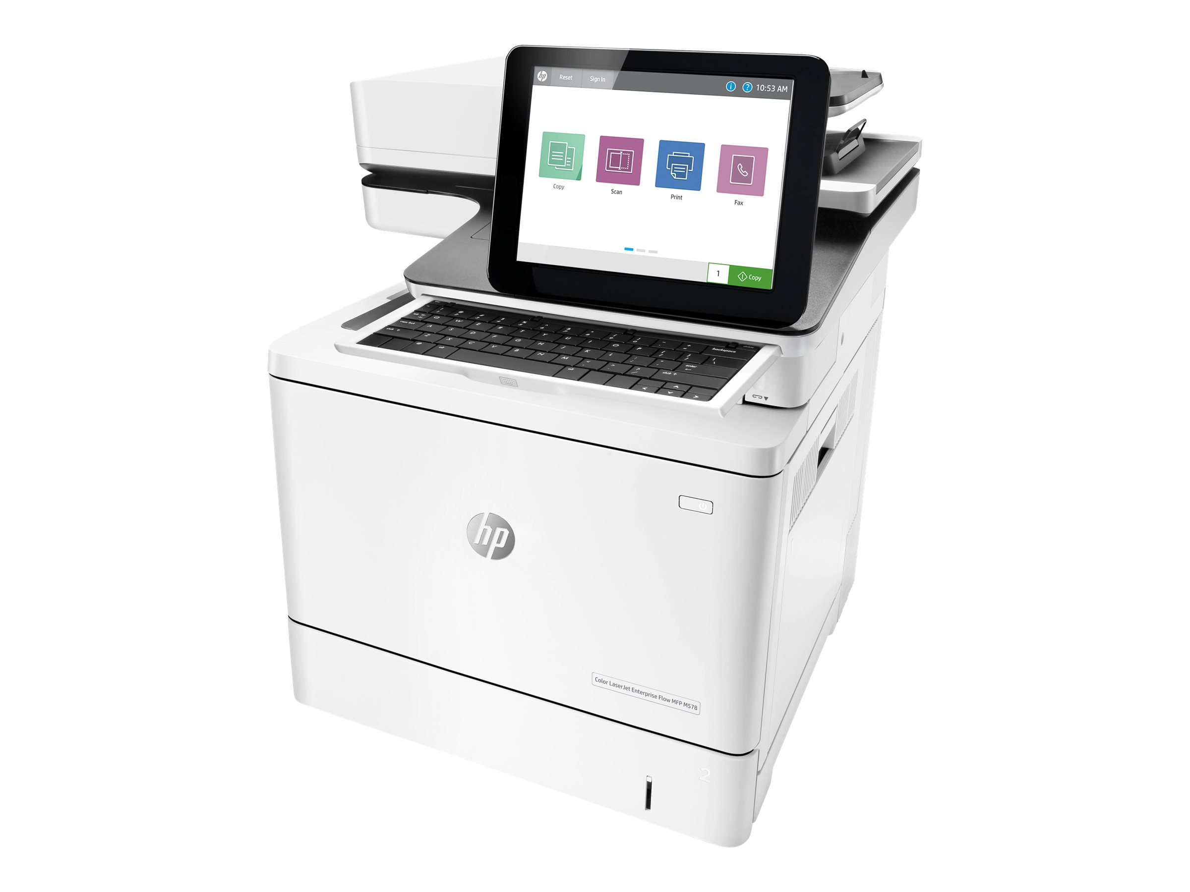 HP LaserJet Enterprise Flow MFP M578z - multifunction printer - color