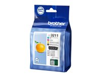 Brother LC3211 - Pack de 4