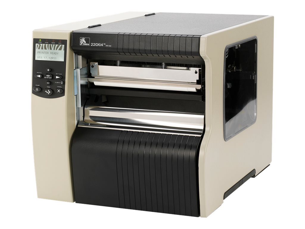 Zebra Xi Series 220Xi4 - label printer - B/W - thermal transfer