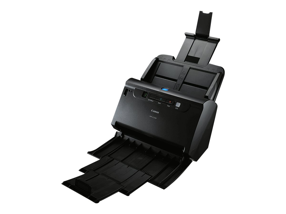 Canon imageFORMULA DR-C230 - Scanner de documents - Recto-verso - Legal - 600 ppp x 600 ppp - jusqu'à 30 ppm (mono) / jusqu'à 30 ppm (couleur) - Chargeur automatique de documents (60 feuilles) - jusqu'à 3500 pages par jour - USB 2.0