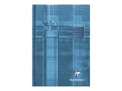Clairefontaine - Cahier de bord - A5 - 40 pages