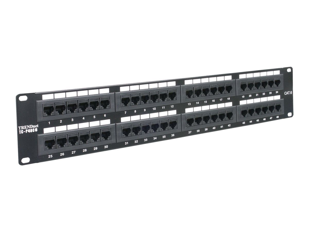 TRENDnet - Patch Panel - 48 Ports