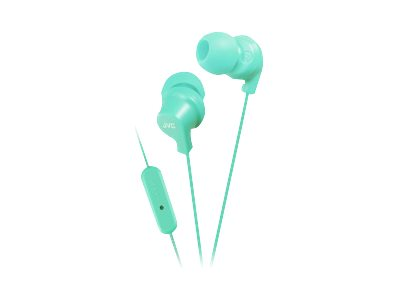 JVC HA-FR15 Earphones with mic in-ear wired 3.5 mm jack turquoise