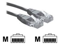 3M Grey RJ45 UTP CAT 6 Stranded Flush Moulded Snagless Network Cable 24AWG LS0H