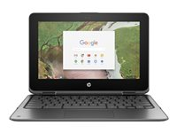 HP Chromebook x360 11 G1 Education Edition flip design Celeron N3350 / 1.1 GHz Chrome OS  image