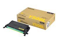 Samsung CLT-Y508L High Yield yellow original toner cartridge (SU535A)