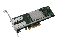 Intel X520 DP - Network adapter - PCIe - 10 GigE - for PowerEdge R220, R420, T320, T630, VRTX; PowerEdge R430, R440, R540, R740, R930, T440, T640