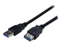 StarTech.com Câble d'extension USB 3.0 SuperSpeed de 2m - Rallonge / Prolongateur USB A vers A