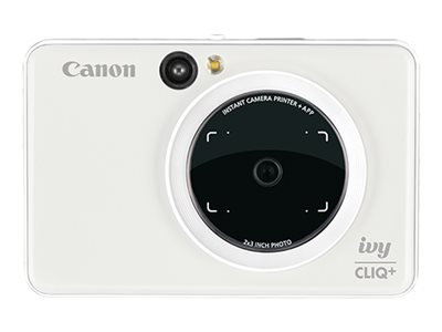 Canon ivy CLIQ+ Digital camera compact with photo printer 8.0 MP Bluetooth rose