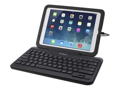 Belkin Wired Tablet Keyboard with Stand Keyboard Apple Lightning connector US