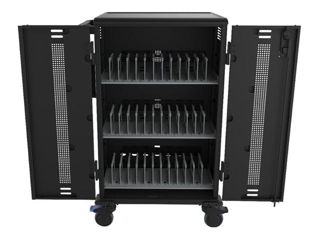Dell Compact Charging Cart - Cart (charge only) for 36 tablets / notebooks - for Chromebook 11 3180, 11 3189, 13 3380; Latitude 3180, 3189
