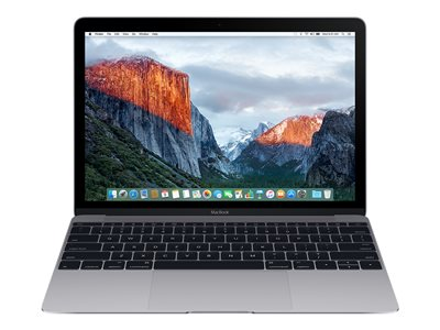 "MacBook - 12"" - Core m3 - 8 GB RAM - 256 GB storage flash - Swiss"