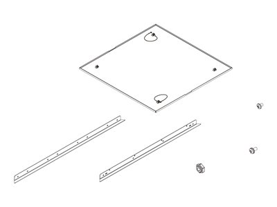 Chief SMA-665 Projection screen ceiling opening trim k image
